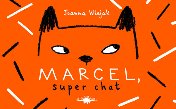 Marcel, super chat (Couverture)