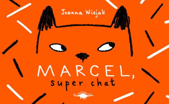 Marcel, super chat (Couverture)