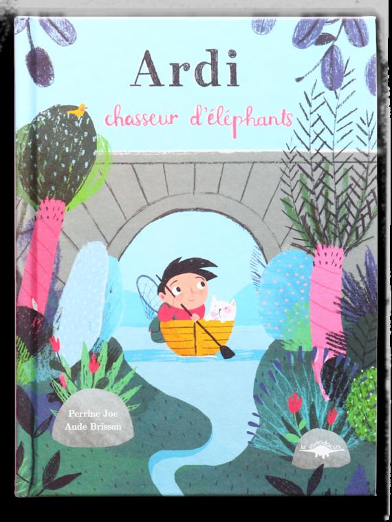 Ardi, chasseur d'éléphants (Couverture)