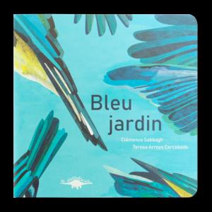 couverture bleu jardin